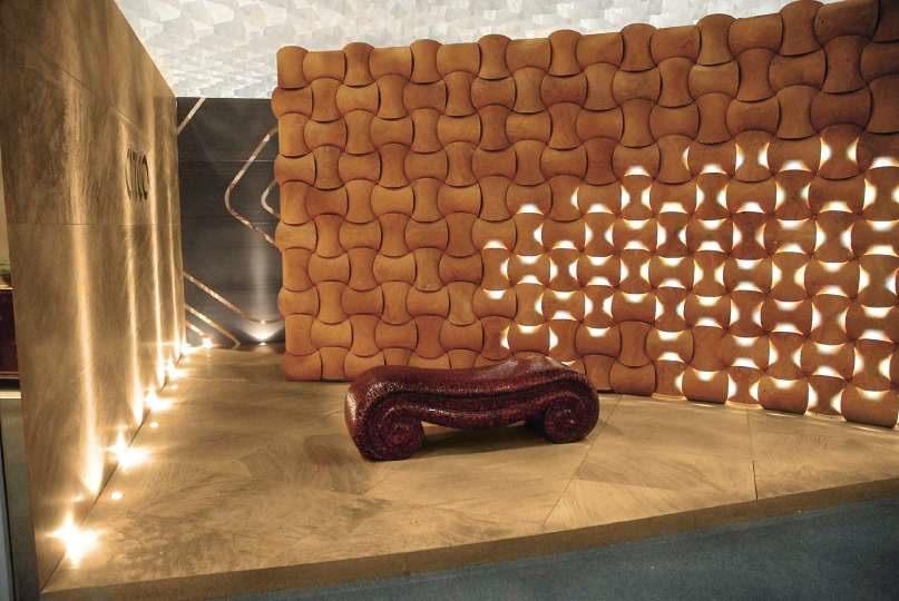 Diseño: la losa de piedra como pantalla - Stone-ideas.com