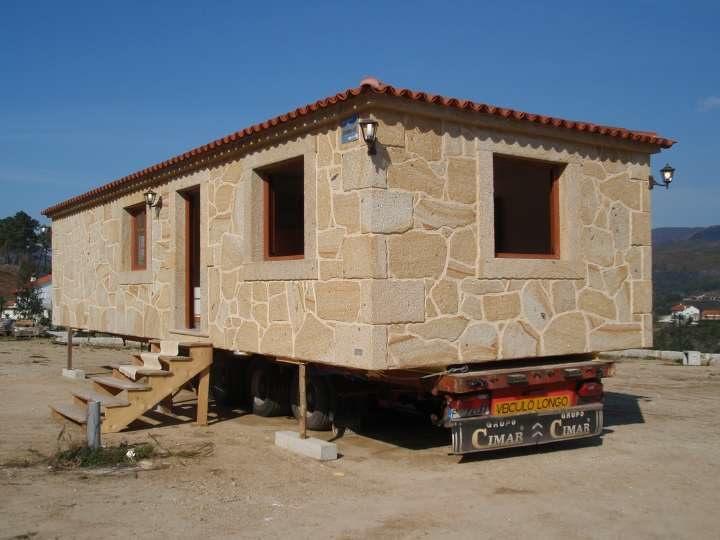Arquitetura casas para se levar stone - Casas de madera portugal ...