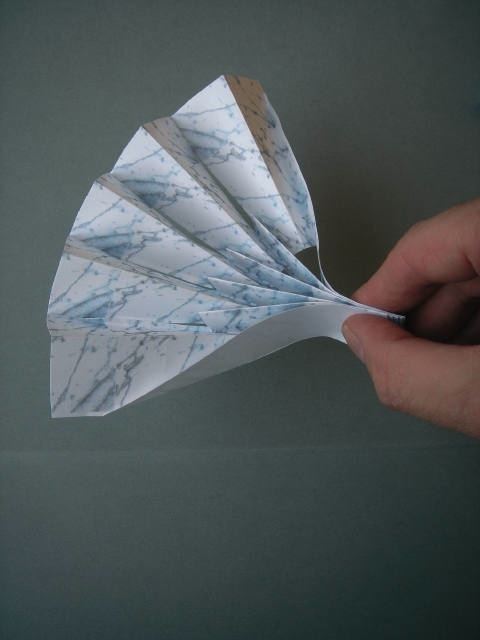 Architecture Marble Look Glass In Origami Folds Stone Ideas