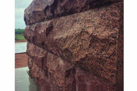 """Granite """"MAPLE RED"""" (""""Lezniki"""") from Leznikovskiy quarry in Ukraine."""