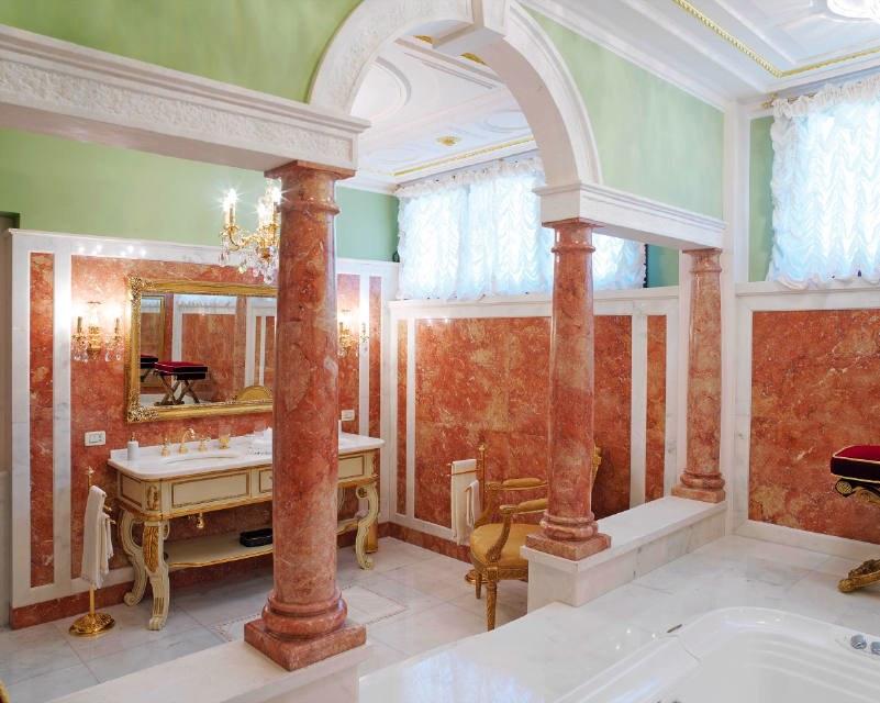 Architettura bagno in ambiente esclusivo stone for Italienisches baddesign