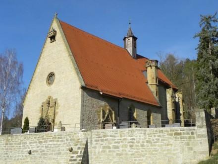 Die Herrgottskirche in Creglingen nach der Restaurierung: 3. Preis für Roland Vorherr (Steinmetzbetrieb Vorherr).