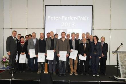 Preisträger und Juroren. Foto: NürnbergMesse / Thomas Geiger.