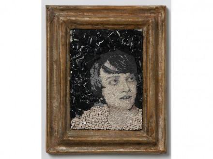 Giuliano Babini: Gian Mattia, 11 x 16 x 4 cm, Collage-mosaico.
