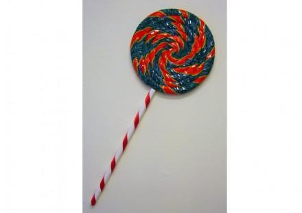 Francesca Gazzotti: sweet-lick, 2010, cm 3 h x 39.