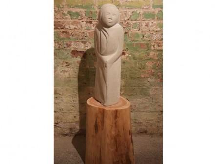 "Sarah Smith: ""Hope"", limestone."