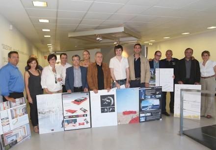I vincitori della competizione Cosentino Design Challenge 2013.
