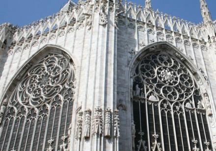 Die Wertbeständigkeit und Schönheit des Natursteins schätzen seit alters her auch die Bauherren: Dom zu Mailand.