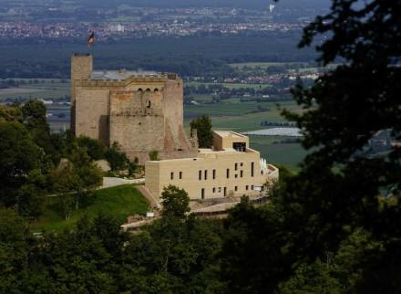 Max Dudler: Hambacher Schloss. Photo: Stefan Müller