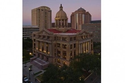 Harris County Courthouse en Houston, Texas.