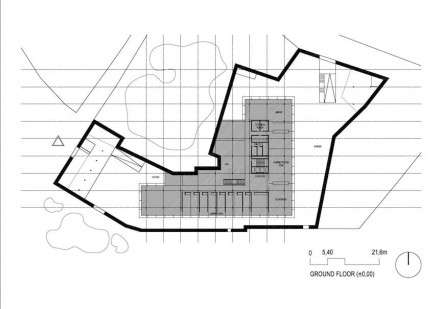 Estudio Arquitectura Campo Baeza: Consejería de Hacienda, Zamora.