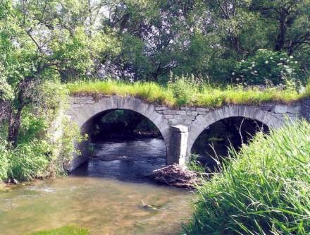 Die Brücke vor der Sanierung. Foto: Deutsche Stiftung Denkmalschutz