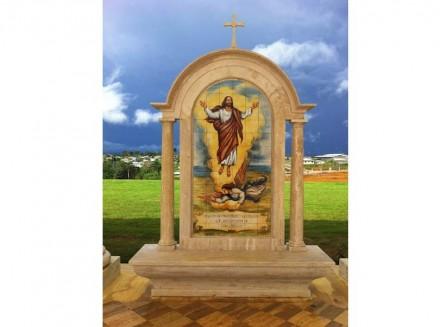 Premio Internacional África, al Monumento Misterios del Rosario, integrado en la Basílica de la Inmaculada Concepción de Mongomo, en Guinea Ecuatorial.