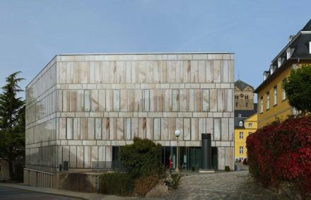 Max Dudler: Folkwang Bibliothek, Essen.