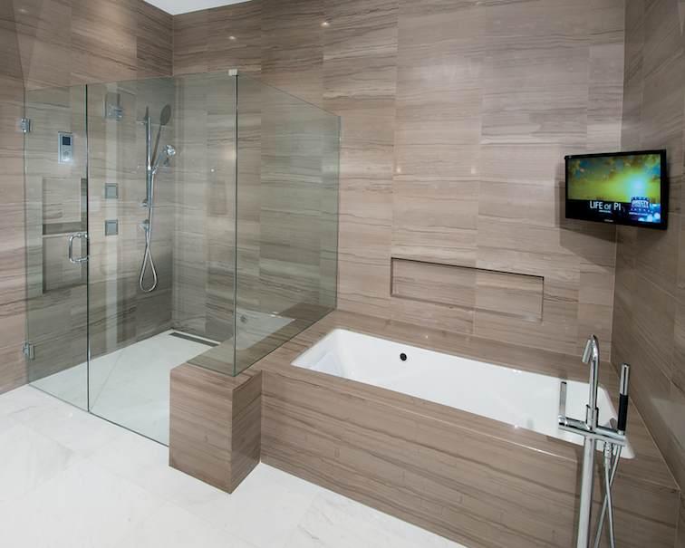 Baldosas Cuarto Baño:Veteado de piedra para el cuarto de baño – Stone-ideascom