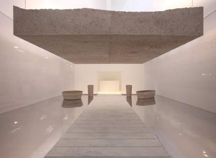 "Pibamarmi, Alberto Campo Baeza: ""A Pedra de Sísifo"". Foto: Veronafiere"