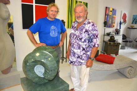 Ernesto und Ernst Ghenzi, Sohn und Vater.