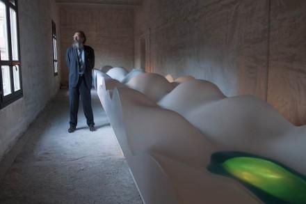 "Michele De Lucchi, Hi-Macs: ""Homage to the Imagination""."