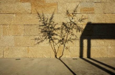 Una delle particolarità del muro è che è stato costruito a secco senza malta.