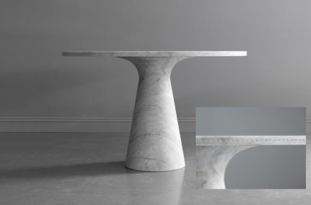 Bethan Gray: Brogue dining table.
