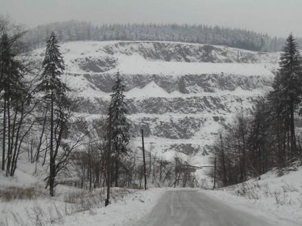 """Gulliver's stairs"" is the name given to this quarry near Rybnica Leśna near Wałbrzych, Silesia. Photo: Wikimedia Commons"