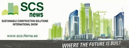 SCS Salón Internacional de Soluciones para la Construcción Sostenible (International Show for Sustainable Construction Solutions) on May 07-10, 2014.