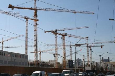 Gute Aussichten hat die deutsche Baubranche für 2014.