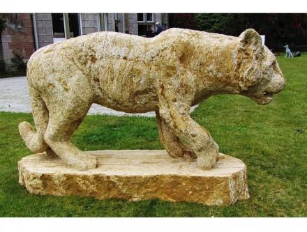 """""""Tiger"""". Ham stone 1m x 350 x 750 mm."""