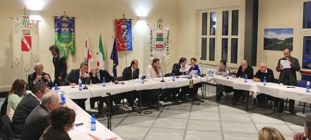 Sete sindaci della Versilia approvano documento unitario. Foto: Apuo Versilia Produce Online