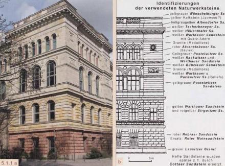 """Das Büchlein """"Naturwerksteine auf dem Campus der Technischen Universität Berlin"""" analysiert detailliert die Natursteine an der TU-Berlin."""