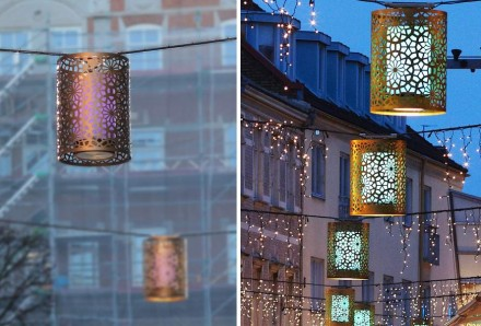... and in street lanterns which were developed in cooperation with Atelje Laterne.