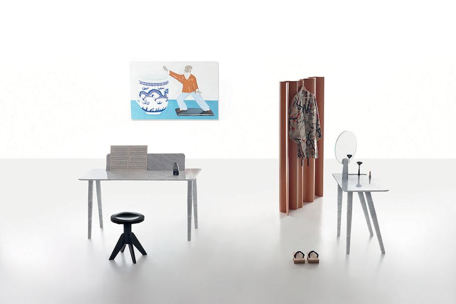 Studio irvine toio l 140 x w 55 x h 93 isa l 80 x for Mirror 80 x 50