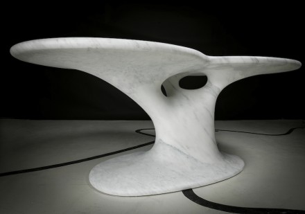 """Solid Senses"", Stefano Giovannoni: ""Rabbit Table""."