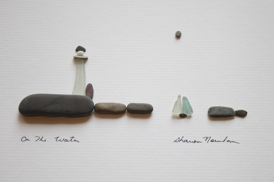 Sharon nowlan pebbles capture life in a snap shot stone for Pebble art ideas