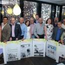 Jury and Winners Cosentino Design Challenge 2014. Foto: Cosentino
