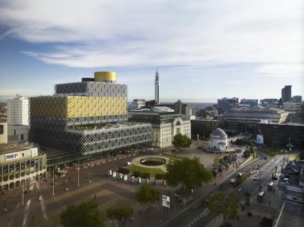Mecanoo: Library of Birmingham.