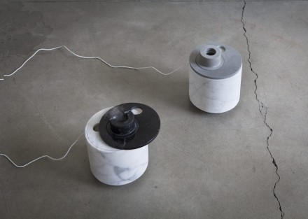 """Cimmy"" es un humidificador de aire a base de ultrasonido. Se regula girando la tapa."