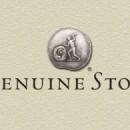 """O selo """"Genuine Stone""""."""