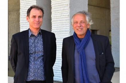 François Fontès (a la derecha).