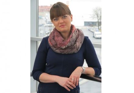 Joanna Mizerska is the trade fair's director.