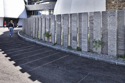 Gneis wird vielfach im Garten- und Landschaftsbau eingesetzt.