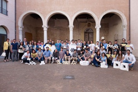 Participants, companies and docents of the project at the University of Ferrara in the 2013/14 academic year.