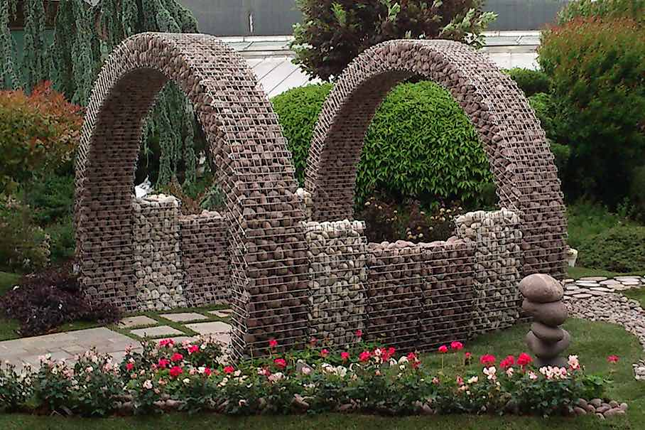 Gabions Product Area With Great Potential For Artists