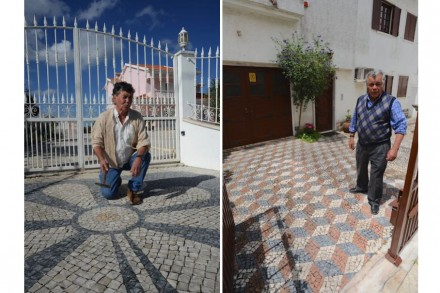 Luciano Barbosa (esq.), João Dinis.