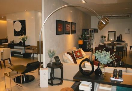 "Lamp ""Arco"" (Bow), created by the Italian Achille Castiglioni in 1962."