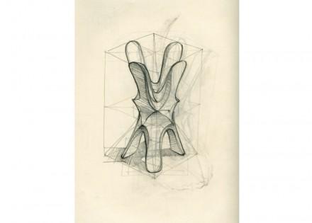 "Digital Lithic Design: ""Quadrilobo"". Raffaello Galiotto, Decormarmi."