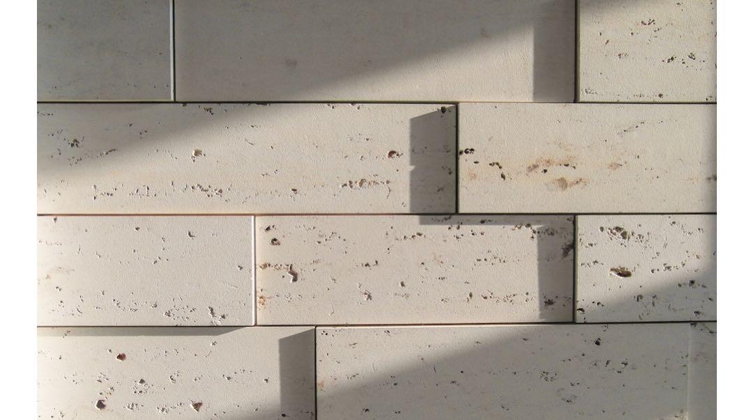 fassadensystem linea von franken schotter viele langgezogene stein riemchen statt gro er. Black Bedroom Furniture Sets. Home Design Ideas