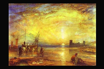 William Turner: Flint Castle (1838). Fonte: Wikimedia Commons