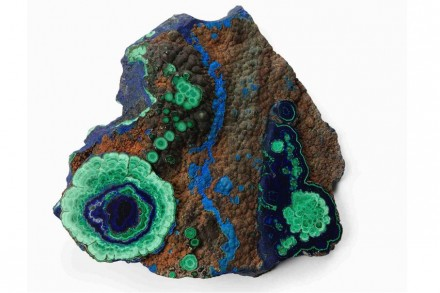 Azurite and Malachite.