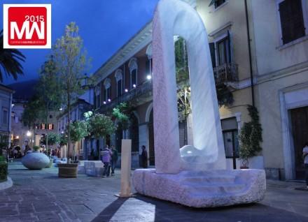 Carrara Marble Week 2014: Piazza Accademia. Foto: Stefano de Franceschi Carrara Marble Week 2014: Corso Rosselli.